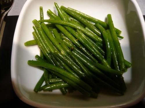salade de haricots verts plaisir gourmand du 25 janvier paperblog. Black Bedroom Furniture Sets. Home Design Ideas