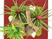 Tableau végétal spécial Saint valentin