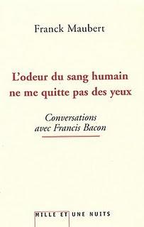 L'odeur du sang humain ne me quitte pas des yeux par Franck Maubert