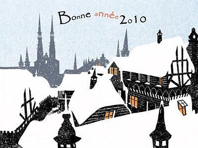 Les auteurs BD présentent leurs vœux : Hervé Duphot, Nicolas Malfin, Vincent Wagner