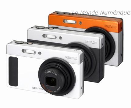 Appareil photo numérique Pentax Optio H90, pour plus de simplicité