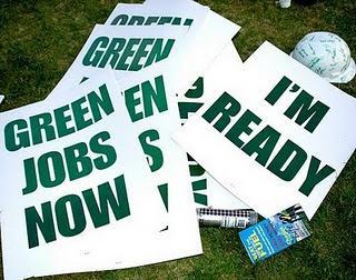 Emplois verts : Prometteurs sur le papier mais ... hypothétiques sur le terrain !