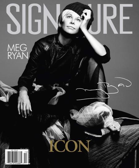 [couv] Meg Ryan pour Signature magazine