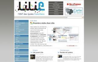 Lilie un espace numérique de travail pour tous les lycées d'Ile-de-France