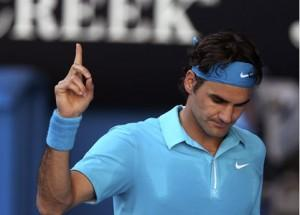 Federer monte en puissance