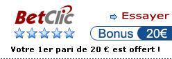 Betclic paris online