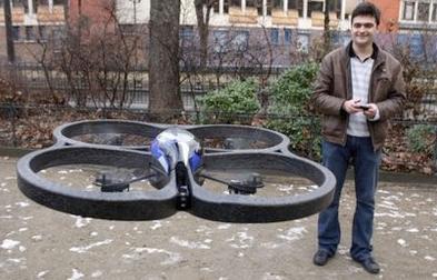 L'AR drone (Augmented Reality) entre sur le marché des loisirs