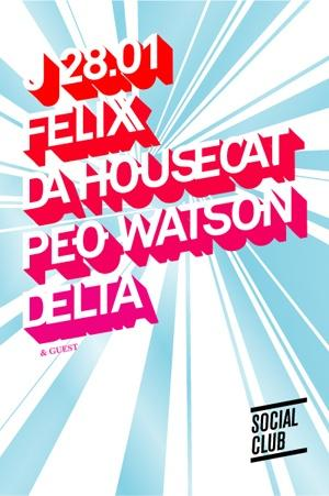 Gift of the week : Felix Da Housecat, Party Chivers