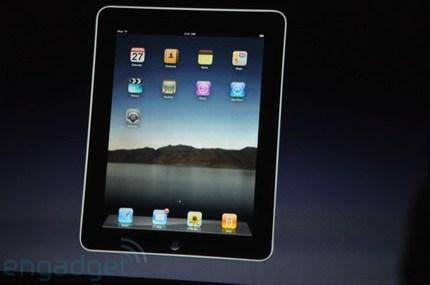 Apple annonce officiellement sa tablette Internet iPad