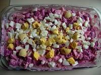 Rosolje, la salade estonienne colorée