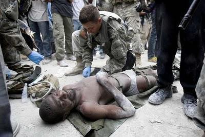 Un homme de 35 ans tiré des décombres ce mardi matin en Haiti