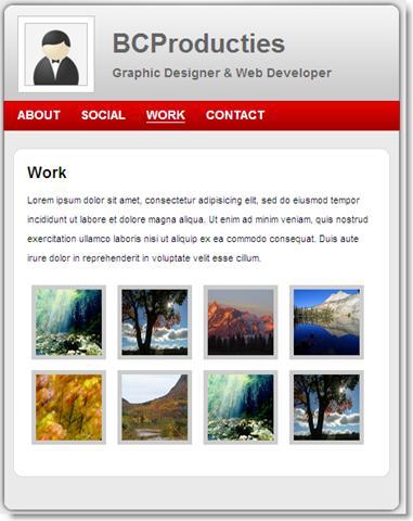 image thumb9 [Design] Un thème professionnel vCard gratuit