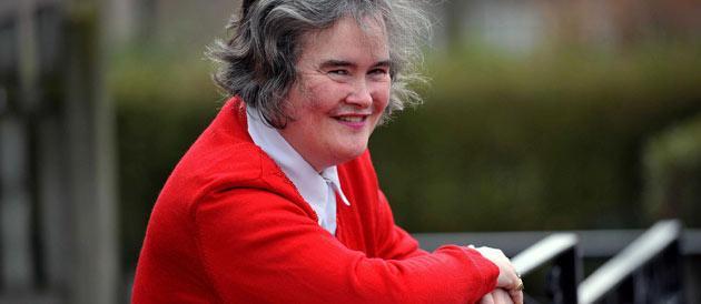 Susan Boyle face-à-face avec un voleur chez elle.