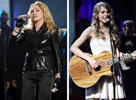 Madonna et Taylor Swift en live : Pour aider les victimes d'Haïti