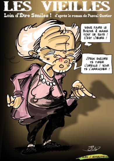 Les vieilles de Pascale Gauthier : méfiance, c'est plus prudent