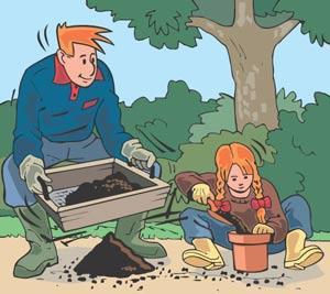 L'utilité du compost