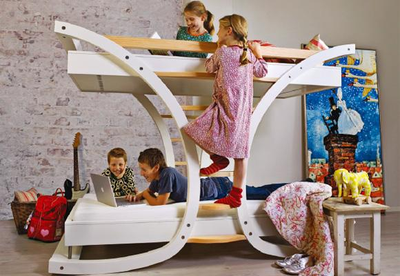 MIMONDO // wave 2, bunk bed for children