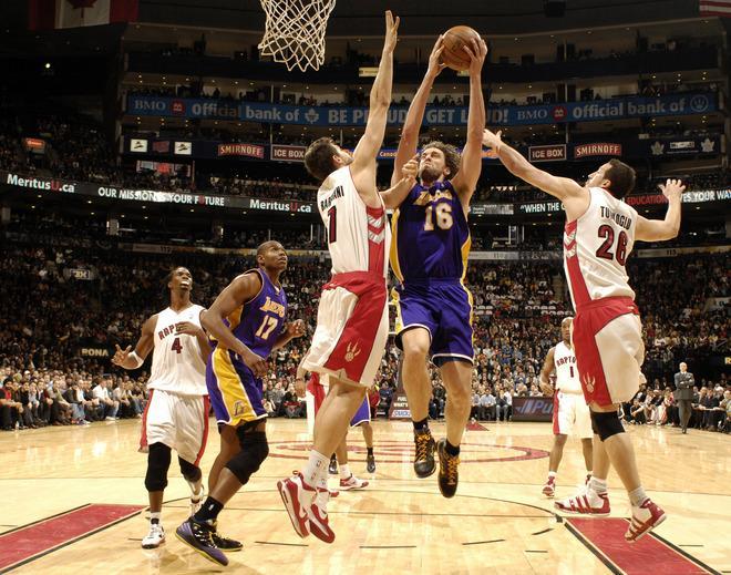 Lakers 105 @Toronto 106 (24.01.2010)