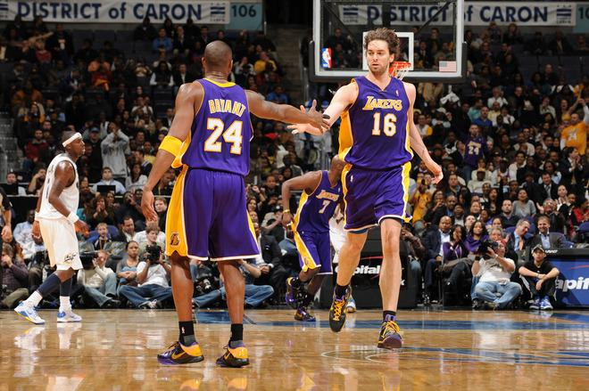 Lakers 115 @ Wizards 103 (26.01.2010)
