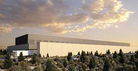 Facebook - data center - Pineville
