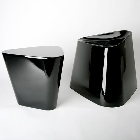 XLBoom - Tribe Chair + Table - noir