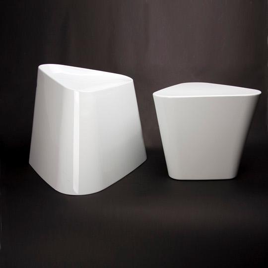 XLBoom - Tribe Chair + Table - blanc