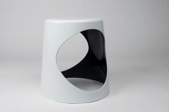 XLBoom - O2 Chair - blanc&noir