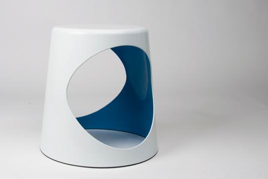 XLBoom - O2 Chair - vert&blanc