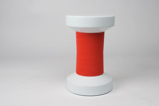 XLBoom - Bobine Chair - rouge&blanc