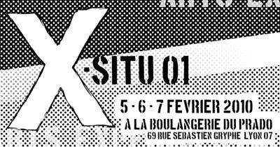 X-SITU - PLASTIQUE, SONORE ET MUSICAL