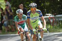 Ivan Basso emmène Stefano Garzelli sur le Giro 2009