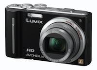 Panasonic : Lumix DMC-TZ10 et Lumix FT2