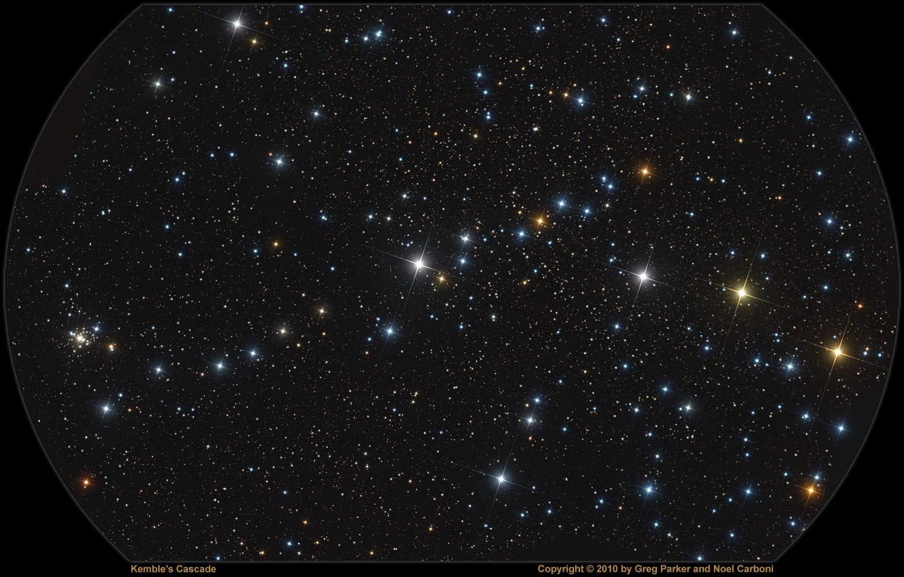 La cascade d'étoiles Kembel