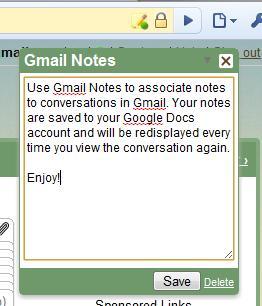 gmail note 6 extensions Gmail pour Google Chrome