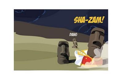 dc comics hits hanga roa