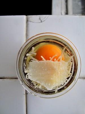 Œuf cocotte enneigé