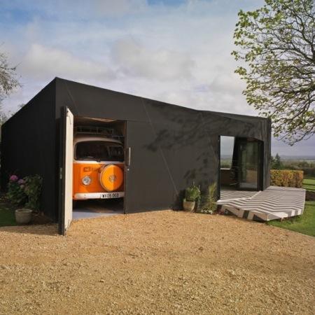 Chatley Lodge par AOC Architecture