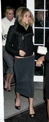 La jupe longue moulante ...?