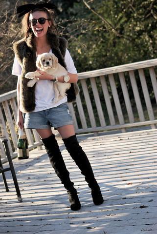 Looks cuissardes: inspirations de looks. Lana G.