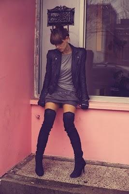 Looks cuissardes: inspirations de looks. Leaka sur http://fashionleaka.blogspot.com