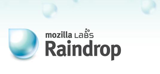 Mozilla Raindrop: rapport d'étape