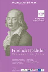 Une exposition consacrée à Hölderlin à la BNU de Strasbourg