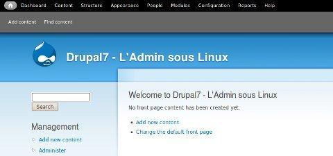 Drupal 7 – Les nouveautés
