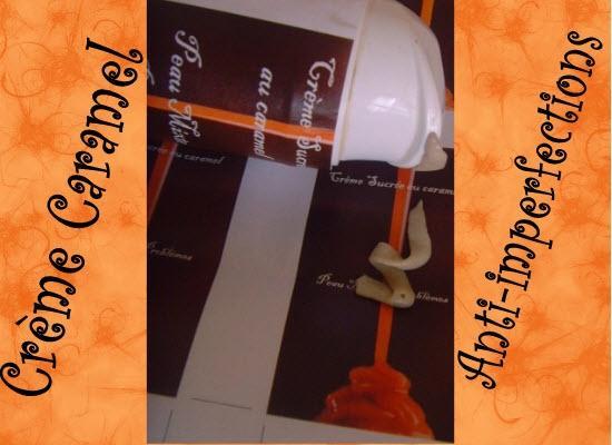 Crème caramel sucrée  pour peau Mixte à problèmes