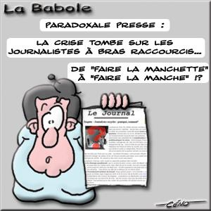 La Babole - Crise chez les journalistes ?