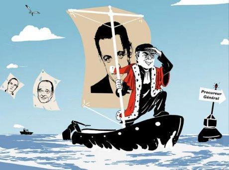 Le Marin de Sarkozy n'a pas le pied si sûr…
