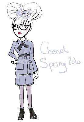 Rococo girl : by Chanel !