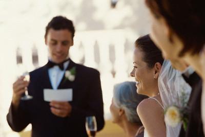 LE discours de mariage