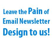 Leave the Pain of Newsletter Design To Us - AWeber Email Marketing