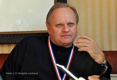 AGECOTEL A NICE - SALON PROFESSIONNEL AVEC  LE PLUS GRAND CHEF ETOILE JOËL ROBUCHON
